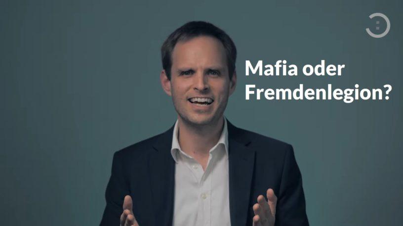 Mafia oder Fremdenlegion? Hoffnungs:voll