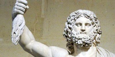 Bild: Zeus mit Donnerkeil. wikimedia.org